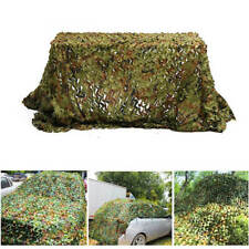 3x4m Woodland leaves Camo Army Hide Cover Net CS Tactical Hunting Ghillie Net