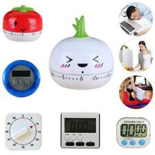 Large LCD Digital Kitchen Cooking Timer Count-Down Up Clock Loud Alarm LJ