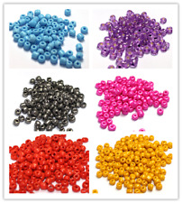 700pcs 4mm Wholesale Jewelry DIY Loose Czech Glass Rondelle Spacer Seed Beads