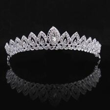1Pc Women Silver Crystal Bridal Tiara Crown Gorgeous 3 Designs Headbands Prom Ha