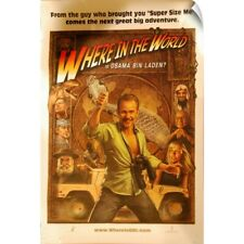 """Wall Decal """"Where in the World is Osama Bin Laden? - Movie Poster"""""""