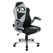 Ergonomic Swivel Gaming Chair Computer Desk Racing Chair Adjustable Armrest