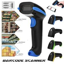 Handheld Wireless Barcode Scanner Bar Code Reader Scan For Windows Android iOS