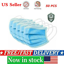 50pcs Disposable Face Mask Filters Bacteria 3-Layers Beauty Medical Masks Pro