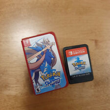 Pokemon Sword & Shield Miniature Mini Nintendo Switch Game **CASES ONLY**