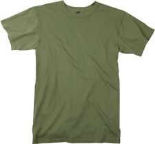 Olive Drab Heavy Duty Premium Poly/Cotton Military T-Shirt