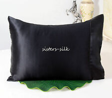 1 pc 16MM 100% Silk Pillowcase Traditional Style Standard Queen King