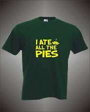 I ATE ALL THE PIES - MENS FUNNY T-SHIRT - ALL SIZES