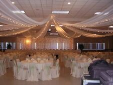 """54""""x 80 Yards/240 Ft Tulle Wedding Decoration 25 Colors"""