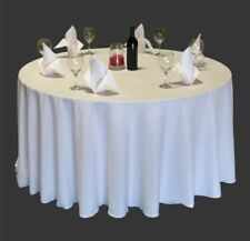 20 Pack 108 Inch Round Polyester Tablecloths 25 Colors