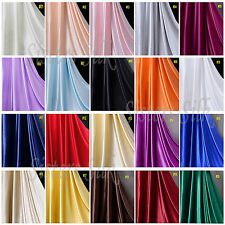"1PC 5 Meters 19MM 100% Pure Silk Charmeuse Satin Fabric Clothing Sewing 45"" Wide"