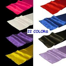"35 Pack of 12"" x 108"" Satin Table Runners - 22 Colors!"