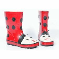Childrens Wellington Boots, Ladybird. Wellies, Kids, Rain, Red, Toddler, Baby