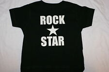 Funny Cute Baby Infant Cotton Toddler T-Shirt-ROCK STAR