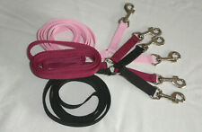 NEW Webbing Lead Rein with Coupling, ALL COLOURS made to order