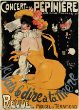 CONCERT DE LA PEPINIERE I'M GOING TO TELL YOUR MOTHER SHOW VINTAGE POSTER REPRO