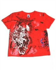 Ed Hardy Boys Graphic SKULL Short Sleeve Tee NWT