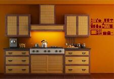 Kitchen Pantry Shelves Vinyl Wall Decal