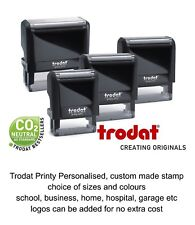 PERSONALISED NAME, ADDRESS SELF INKING RUBBER STAMP, SCHOOL.EDUCATION,OFFICE etc