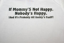 Funny Cute Baby Infant Toddler T-Shirt- IF MOMMYS NOT..