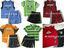 * NWT NEW BOYS 2PC ADIDAS SHIRT SUMMER OUTFIT SET 12M 18M 24M 3T
