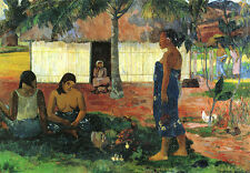 """Paul Gauguin- Why are you Angry - 20""""x26""""   on Canvas"""