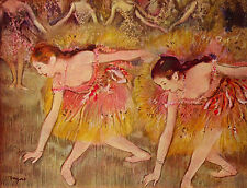 "Ballet dancers  by Edgar Degas -  20""x26""  on Canvas"
