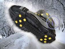 Anti Slip Shoe Grips, Ice Cleats, Spikes & Snow Gripper (Prevent Slips & Falls)