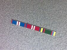 Queens Golden & Diamond Jubilee & Army Cadet Force Enamel Medal Ribbons trio