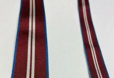 QUEEN'S - QUEEN DIAMOND JUBILEE MEDAL RIBBON FULL SIZE OR MINIATURE - BRAND NEW