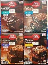 Betty Crocker Chocolate Brownie Premium Dessert Baking Mix ~ Pick One