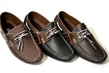 Mens Boat Shoes in Light Brown, Dark Brown, Black, Brand New Casual Shoes FAST