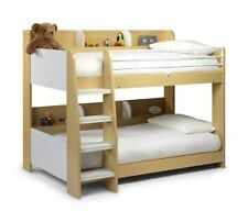JULIAN BOWEN DOMINO BUNK BEDS MAPLE AND WHITE FINISH ** FREE LOCAL DELIVERY