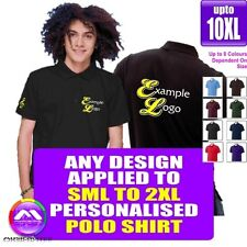 POLO Small - 2XL With Any Music Design Personalised by MusicaliTee