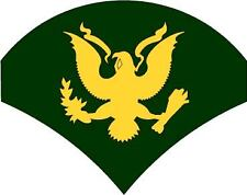 STICKER RANK US ARMY E4 SPECIALIST