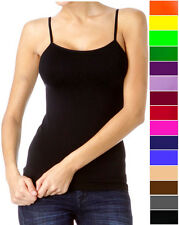 A Sexy Seamless Camisole Tank Top Camice Tee Shirt Basic Layer Pick Your Color