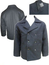 MEN'S EMPORIO RA - 114 WOOL BLEND WOVEN PADDED DOUBLE BREASTED JACKET / COAT