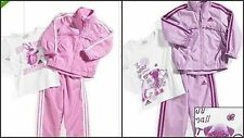 * NWT NEW GIRLS 3PC ADIDAS TRACK SUIT WINTER OUTFIT SET 12M
