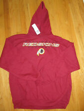 WASHINGTON REDSKINS hoody SWEATSHIRT red NFL SIZE L XL NWT