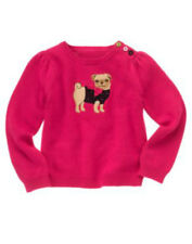 NWT Gymboree PUPS & KISSES Pink Yorkie Dog Top Shirt Tee Size 4T 5T 4 5 R1260
