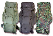 NEW 85L ARMY MILITARY STYLE HIKING OUTDOOR BACKPACK RUCKSACK BERGEN DAYPACK