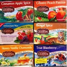 Celestial Seasonings Herbal Tea Bags Soothing Delicious ~ Pick One