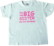 Boys/Girls T-Shirt I'm The BIG Sister/Brother (So I'm in Charge) T-Shirt