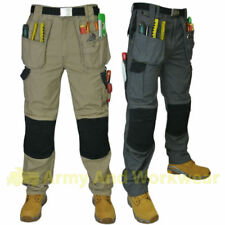 Panoply Mach5 Heavy Duty Mens Lavoro Pantaloni Workwear MULTITASCA commercio PRO PANTS