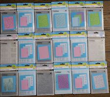 CUTTLEBUG EMBOSSING FOLDERS DIFFERENT DESIGNS TO CHOOSE FROM BRAND NEW