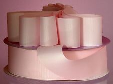 LIGHT PINK Grosgrain Ribbon 50 YARD roll ASSORTED WIDTHS Sewing & Decorating
