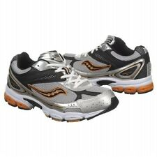 """NEW Saucony """"Grid Ignition 2"""" Athletic Tennis SHOES Blk/Gray/Orange Youth Boys!"""