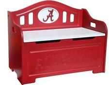 NCAA Painted Storage Bench Toy Box / Toy Chest NEW