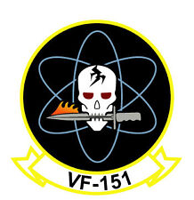 STICKER USN VF 151 FIGHTER SQUADRON