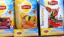 Lipton Tea & Honey To Go Iced Tea Powdered Drink Mix ~ Pick One